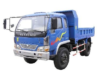 常内牌CN5815PD2型自卸低速货车