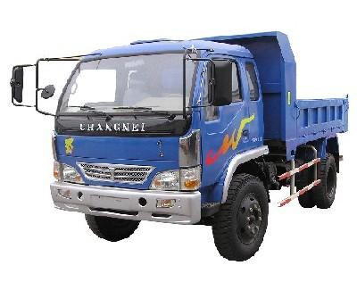常内牌CN5815PD3型自卸低速货车