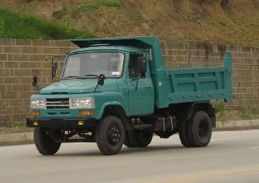 川交牌CJ4010CD型自卸低速货车