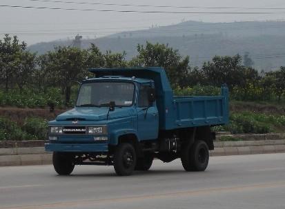 川路牌CGC2810CD1型自卸低速货车