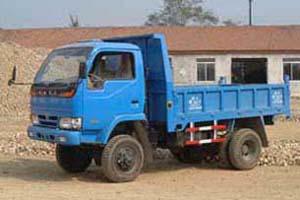 天菱牌TL5815DS型自卸低速货车