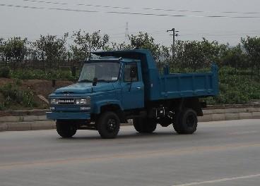 川路牌CGC2810CD2型自卸低速货车