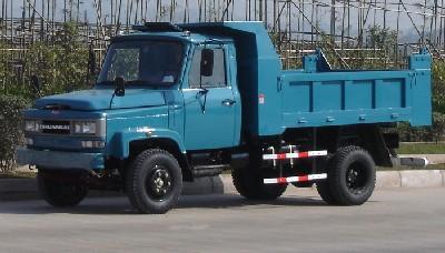 川路牌CGC5815CD4型自卸低速货车
