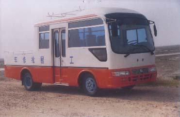 华新牌HM5042XGC1型工程车图片
