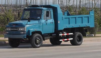 川路牌CGC4010CD6型自卸低速货车