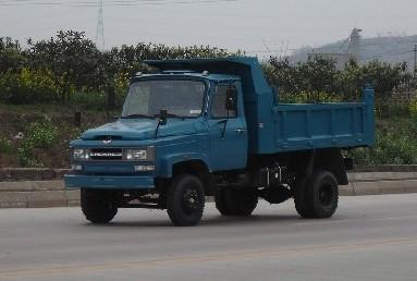 川路牌CGC2810CD型自卸低速货车