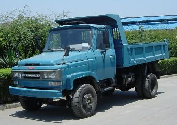 川路牌CGC4010CD5型自卸低速货车