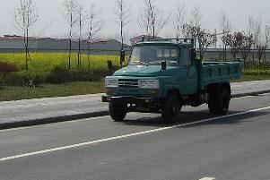川交牌CJ4010CD4型自卸低速货车图片