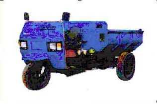 7Y-1150D双嶷山自卸三轮农用车(7Y-1150D)