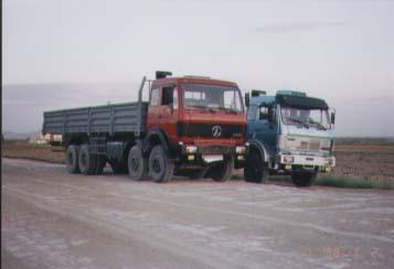 北方奔驰前四后八货车362马力19吨(ND1310A41J)