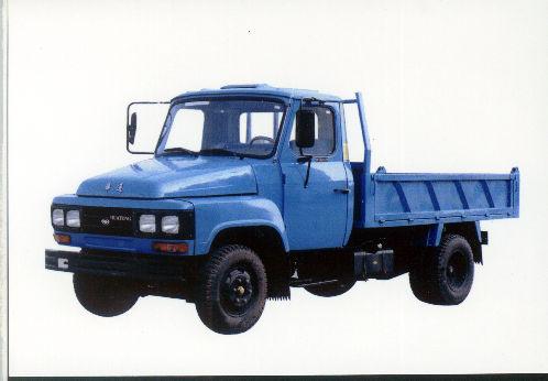 华通牌JN5820CD型自卸低速货车图片