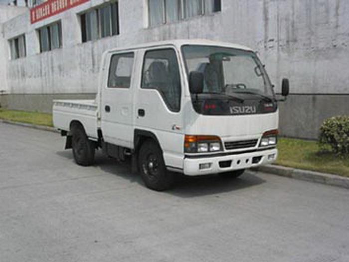 五十铃牌NKR55ELBWCJ型轻型载货汽车图片