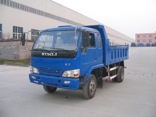 迅力牌LZ5815PDE2型自卸低速货车