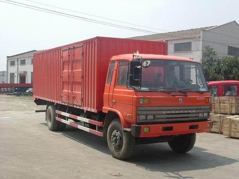 东风牌DHZ5120XXYGD11型厢式运输车