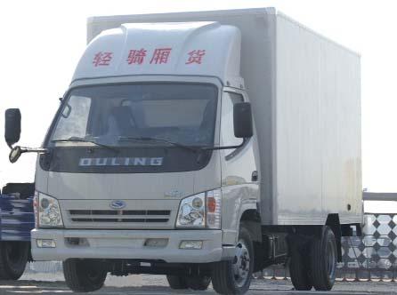 ZB5810XT轻骑厢式农用车(ZB5810XT)