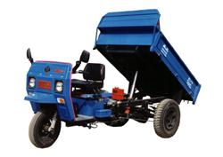 兰驼牌7Y-1150AD型自卸三轮汽车图片