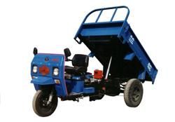 兰驼牌7Y-1450AD型自卸三轮汽车图片