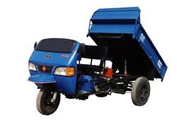 兰驼牌7YP-1150D型自卸三轮汽车图片