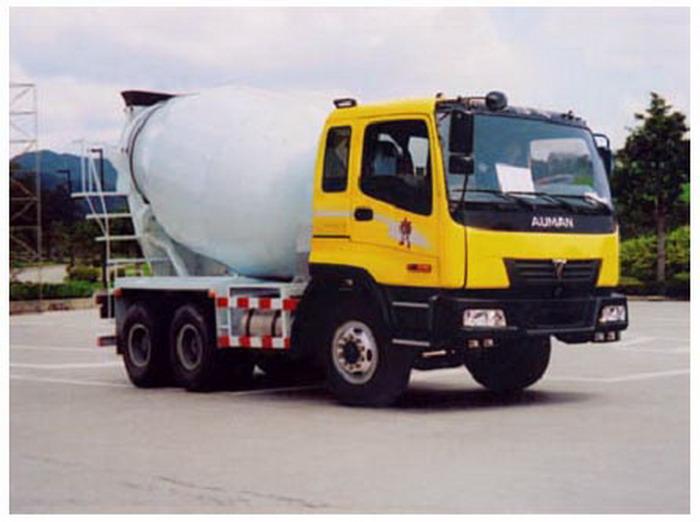 长春牌CCJ5250GJBB型混凝土搅拌运输车图片
