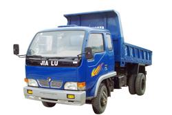 甲路牌JT5815PD型自卸低速货车