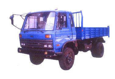 铁武林牌SW4010PD型自卸低速货车