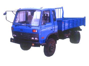 铁武林牌SW5815PD型自卸低速货车