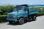 川路牌CGC5815CD1型自卸低速货车