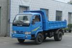 川路牌CGC4010D1型自卸低速货车