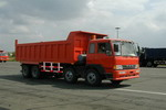 解放牌CA3318P1K2T4-3型8X4平头柴油自卸汽车图片