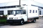 畅达牌NJ5046XLC2型依维柯冷藏车