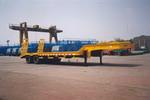 金鸽11.9米40吨4轴低平板专用半挂车(YZT9510TDPA1)