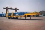 金鸽11.9米50吨4轴低平板专用半挂车(YZT9620TDPA1)