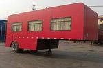 乔6.9米01轴半挂式房车(JHZ9040XFC)