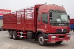 长鹿牌HB5240CSF型仓栅式运输车图片