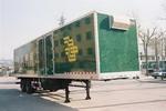 鲁威牌SYJ9190XYZ型厢式邮政半挂车图片