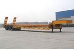 中集16.5米17吨3轴低平板半挂车(ZJV9281TD)