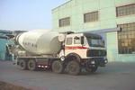 北方奔驰牌ND5312GJBZ型混凝土搅拌运输车图片