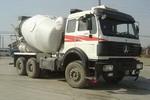 北方奔驰牌ND5255GJBZ型混凝土搅拌运输车图片
