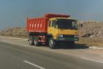 青特后双桥,后八轮自卸车国二220马力(QDT3224PC1)