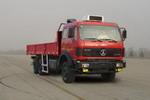 北方奔驰国三后双桥,后八轮货车326马力13吨(ND1250F50J)