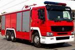 海盾牌JDX5260GXFPM100型型泡沫消防车