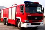 海盾牌JDX5260GXFSG100型型水罐消防车