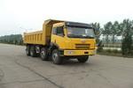 解放牌CA3262P2K2T4型8X4平头柴油自卸汽车图片