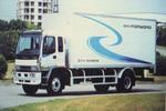 五十铃单桥厢式货车国二230马力(FVR34PX)