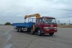 解放牌CA5261JSQA70型8X4平头柴油随车起重运输车图片
