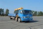 解放牌CA5250JSQA70型6X2平头柴油随车起重运输车图片