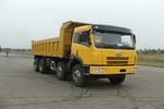 解放牌CA3262P2K2T4A型8X4平头柴油自卸汽车图片
