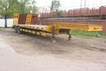 建成牌JC9340型低平板半挂运输车图片