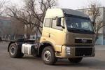 解放单桥平头柴油集装箱半挂牵引车290马力(CA4180P2K2A82)