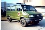 依维柯牌NJ2045XJH型依维柯越野救护车图片